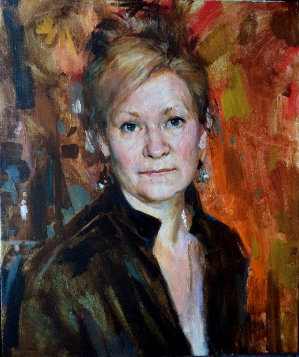 Женский портрет по маслом